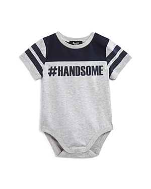 Bardot Junior Boys Hashtag Handsome Bodysuit  Baby