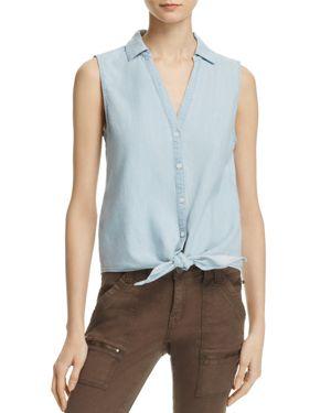Soft Joie Creta Sleeveless Tied Waist Shirt - 100% Exclusive