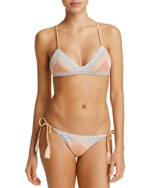 Suboo Crochet Bralette Bikini Top & Bikini Bottom Set