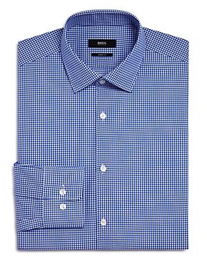 Boss Marley Small Grid Check Sharp Fit - Regular Fit Dress Shirt