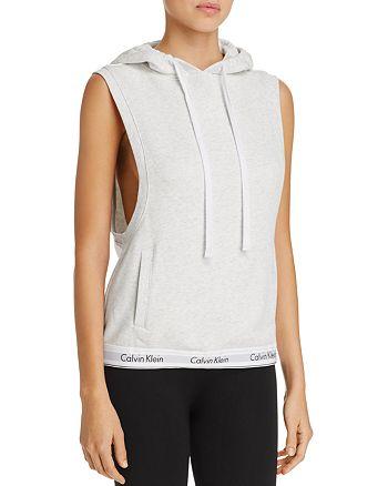 Calvin Klein - Modern Cotton Sleeveless Hoodie Top