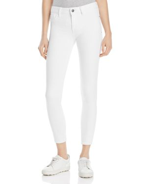 Warp and Weft Jfk Skinny Jeans in White