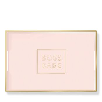 Fringe - Boss Babe Lacquered Tray