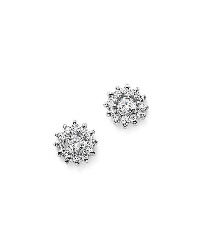 a1b8a6ca4 KC Designs 14K White Gold Diamond Sunburst Earrings | Bloomingdale's