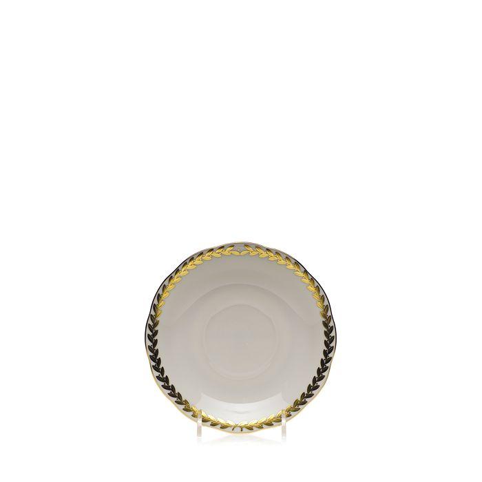 Herend - Golden Laurel Tea Saucer