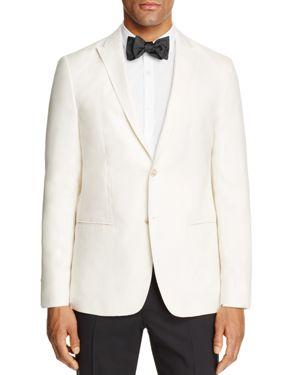 John Varvatos Star Usa Luxe Linen Regular Fit Tuxedo Jacket
