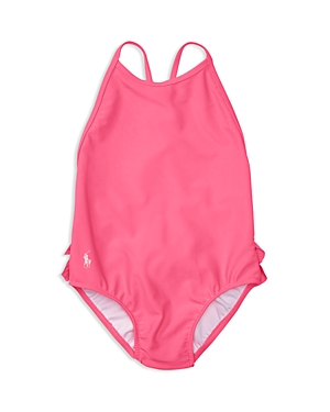 Ralph Lauren Childrenswear Girls' Ruffle Swimsuit - Baby