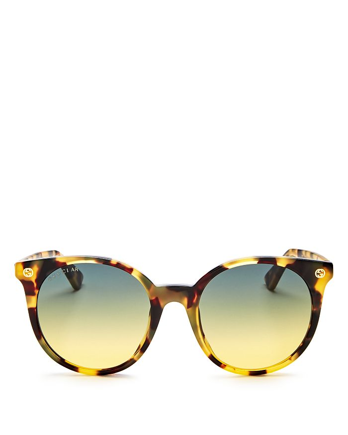 Gucci - Women's Pantos Round Sunglasses, 52mm