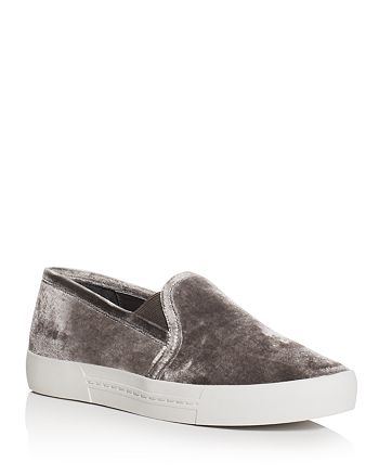 Joie - Women's Huxley Velvet Slip-On Sneakers