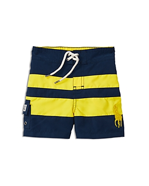 Ralph Lauren Childrenswear Boys' Striped Board Shorts - Baby