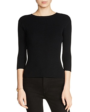 Maje Meely Tie-Back Sweater