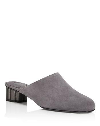 Salvatore Ferragamo - Women's Livorno Low Heel Mules - 100% Exclusive