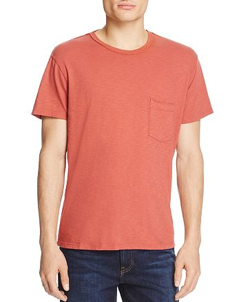 7 For All Mankind - Heathered Pocket Tee
