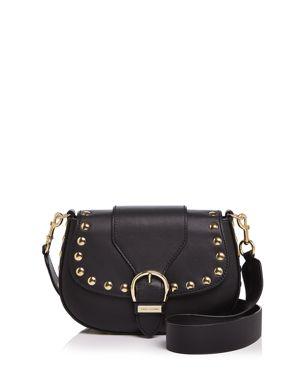 Marc Jacobs Navigator Studded Leather Saddle Bag 2584734