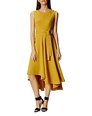 Karen Millen Asymmetric Midi Dress