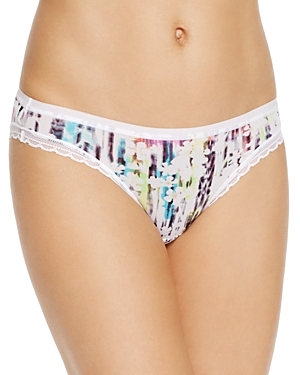 On Gossamer Printed Bikini