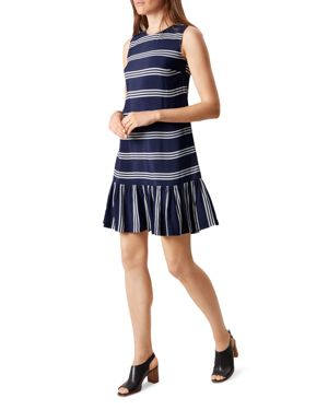 Hobbs London Casey Striped Dress