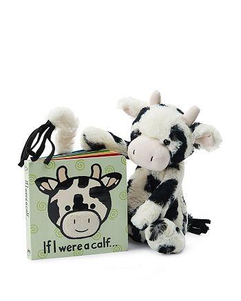 Jellycat - Bashful Calf & If I Were a Calf Book