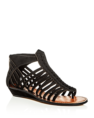 Vince Camuto Seanna Woven Strappy Demi Wedge Sandals