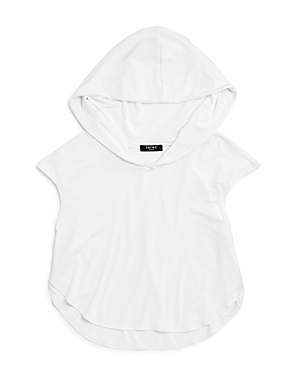 Terez Girls Cropped Hooded Pullover  Big Kid