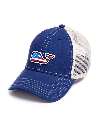 43aee340a5c Vineyard Vines - Whale Flag Patch Trucker Hat