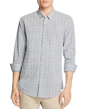 Scotch & Soda Shell Regular Fit Button-Down Shirt