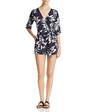 Yumi Kim Liz Floral Print Silk Romper