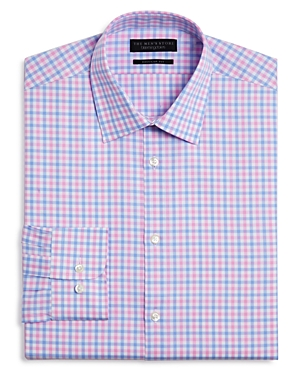 The Men\\\'s Store at Bloomingdale\\\'s Chevron Check Regular Fit Dress Shirt - 100% Exclusive-Men