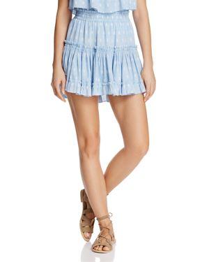 Misa Los Angeles Marion Ruffled Mini Skirt