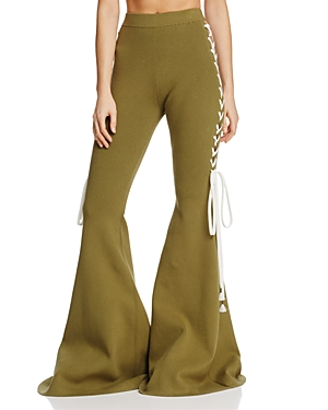 Fenty Puma x Rihanna Lace-Up Bell-Bottom Pants