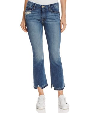 Frame Le Crop Mini Boot Jeans in Roberts