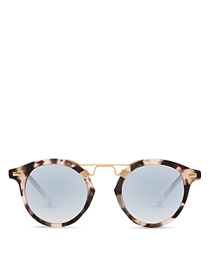 Krewe Women's St. Louis 24K Mirrored Round Sunglasses, 46mm