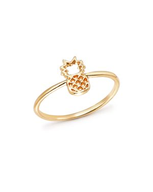Bing Bang Nyc 14K Yellow Gold Pineapple Ring