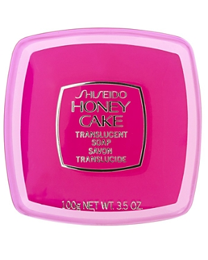 Shiseido Honey Cake Translucent Soap, Red