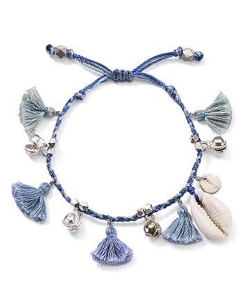 Chan Luu - Tassel & Shell Bracelet