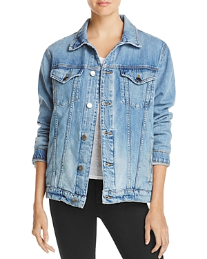 Frame Le Oversized Denim Jacket in Canyon Cove