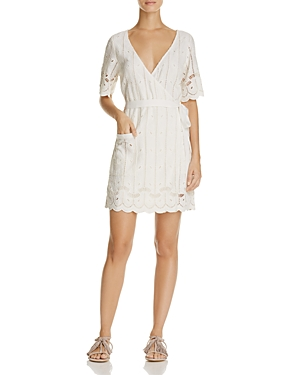 Tularosa Rocky Lace Wrap Dress