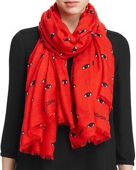 Kenzo - Eyes All Over Scarf