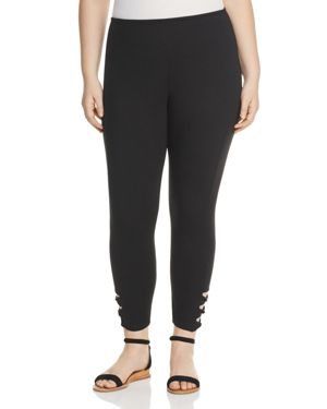 Lysse Plus Twist Cutout Leggings