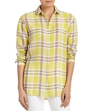 Lafayette 148 New York Sabira Linen Shirt