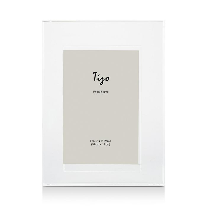 "Tizo - Crystal Plain Frame, 4"" x 6"""