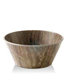 Merritt - Heartwood Round Melamine Salad Bowl
