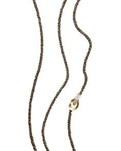 "Antonini 18K Yellow Gold Matera Chain and Cognac Diamond Necklace, 42"" - Bloomingdale's_0"
