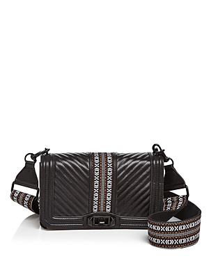 Rebecca Minkoff Love Jacquard Leather Crossbody