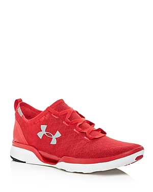 Under Armour Men's Charged Cool Switch Run Mesh Lace Up Sneakers