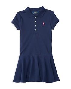 Polo Ralph Lauren Girls' Mesh Polo Shirt Dress - Little Kid - Bloomingdale's_0