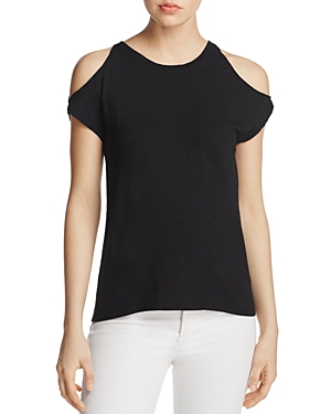 Pam & Gela Cold-Shoulder Tee