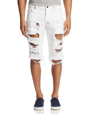 Prps Goods & Co. Ripped Denim Shorts