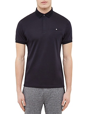 Ted Baker Knit Collar Regular Fit Polo