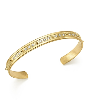 Armenta 18K Yellow Gold Sueno Diamond Cuff